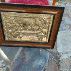 Antigüedades: CUADRO ÚLTIMA CENA. Lote 128877506