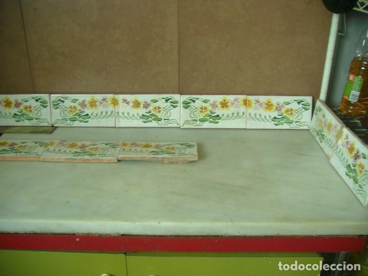 Cenefas De Cocina   10 Azulejos Valencianos Cenefas Porcelana Ceram Comprar Botijos