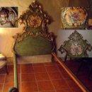 Antigüedades: CAMA DE OLOT S XIX ANGELES - ENVIO GRATUITO ARAGÓN, CATALUÑA, VALENCIA. Lote 128886199