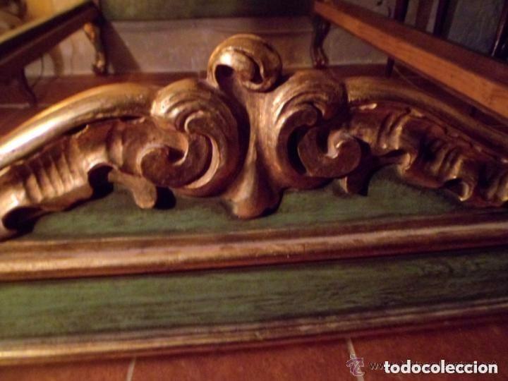 Antigüedades: Cama de Olot S XIX angeles - Envio gratuito Aragón, Cataluña, Valencia - Foto 3 - 128886199