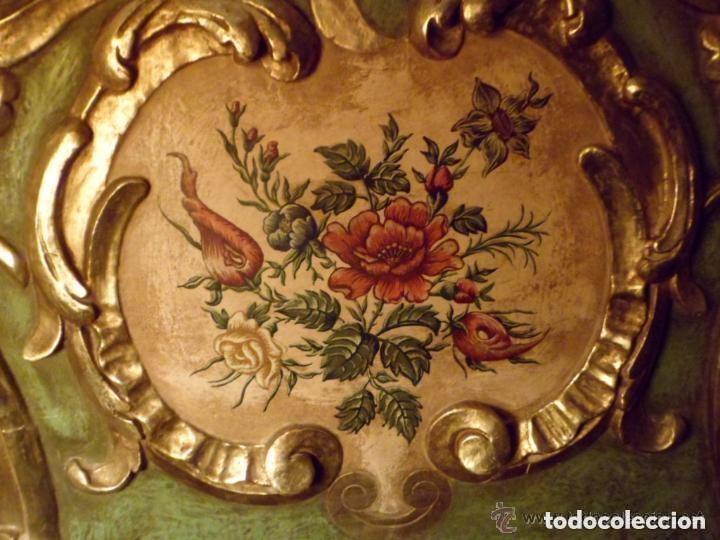 Antigüedades: Cama de Olot S XIX angeles - Envio gratuito Aragón, Cataluña, Valencia - Foto 6 - 128886199
