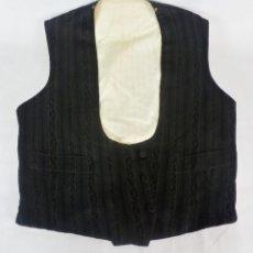 Antigüedades - 1637 Chaleco antiguo de caballero confeccionado a mano principios del s XX Enrique Morell seda - 128897835