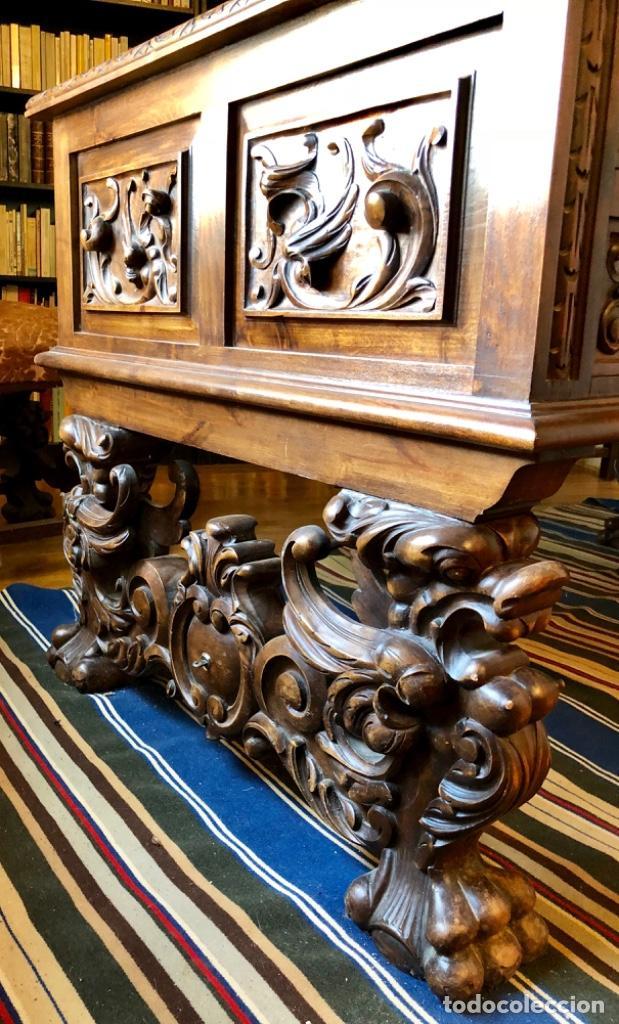 Antigüedades: Despacho completo estilo Renacimiento - Foto 2 - 128905803