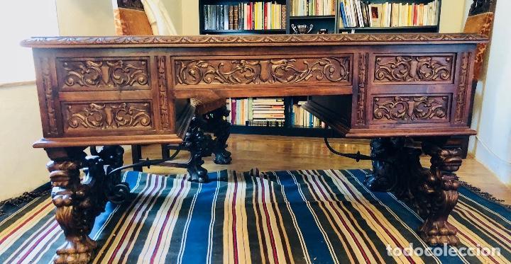 Antigüedades: Despacho completo estilo Renacimiento - Foto 3 - 128905803