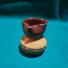 Antigüedades: JARRA EN BARRO DE DECORACIÓN. Lote 128906115