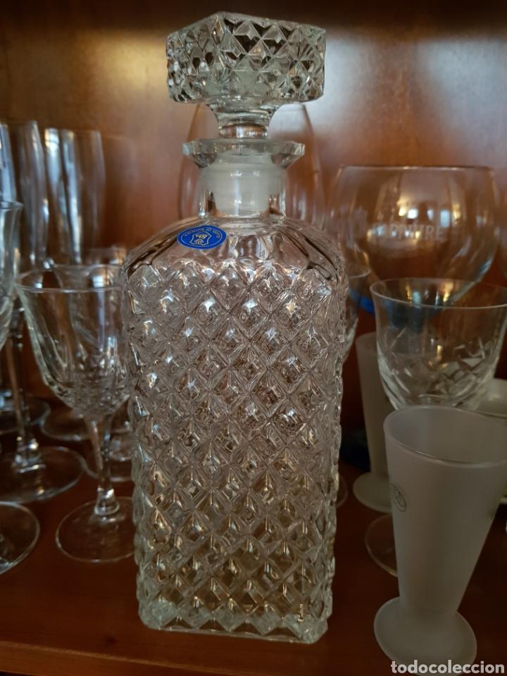 Antigüedades: Preciosa Licorera de Cristal de Bohemia - Foto 3 - 122540443