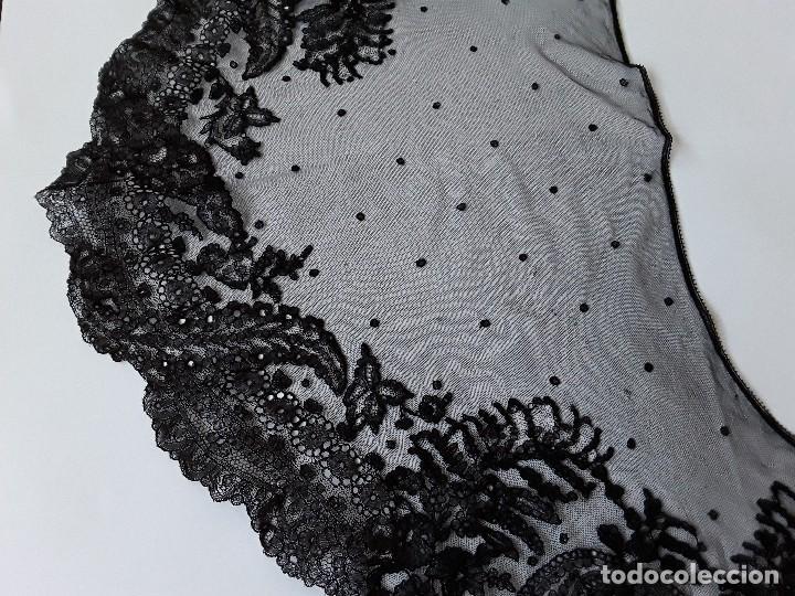 Antigüedades: Velo de misa negro - Foto 7 - 128922455