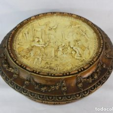 Antigüedades: PRECIOSA CAJA DE TOCADOR, CAJA DE SOMBREROS, GUANTES.... PPS S XX. Lote 128966771