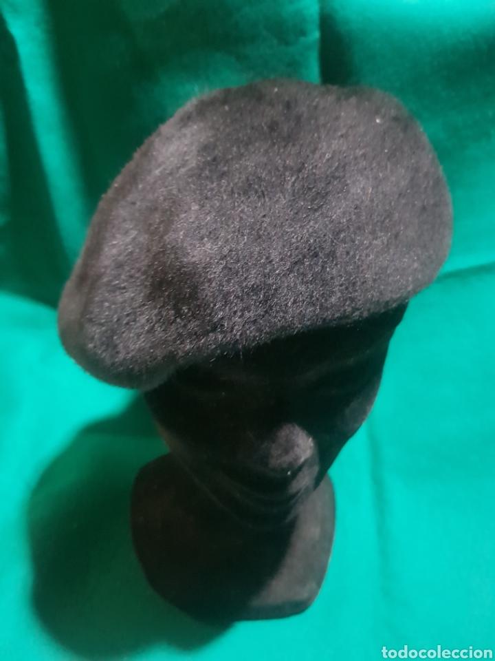 ANTIGUA BOINA DE MUJER (Antigüedades - Moda - Sombreros Antiguos)