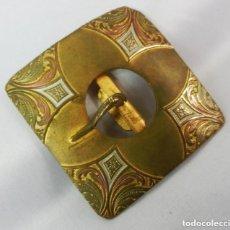 Antigüedades: PRECIOSA HEBILLA MODERNISTA DE ÉPOCA S XIX. Lote 128994659