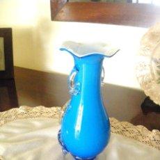 Antigüedades: JARRÓN DE CRISTAL DE MURANO.. Lote 128997967