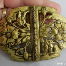 Antigüedades: PRECIOSO CIERRE DE HEBILLA ART NOUVEAU FINES S XIX. Lote 129002047