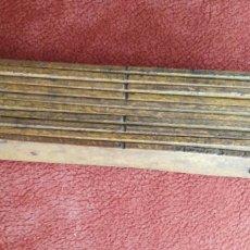 Antigüedades: METRO DE MADERA. ENVIO INCLUIDO.. Lote 129010768