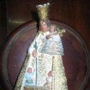 Antigüedades: FIGURA VIRGEN DESAMPARADOS VALENCIA ESTUCO YESO CONTIENE SELLO . Lote 115816795