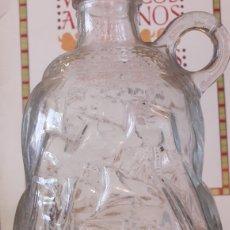 Antigüedades: BOTELLA CON BARCO CRISTAL. Lote 129049518