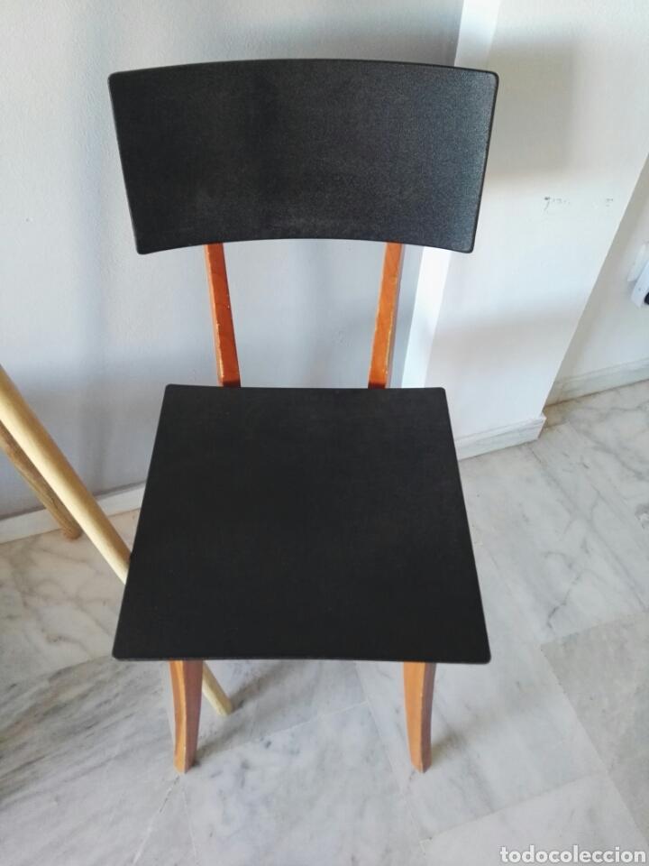 Antigüedades: Silla sillas diseño Zanotta modelo Marina Italy - Foto 3 - 129082180