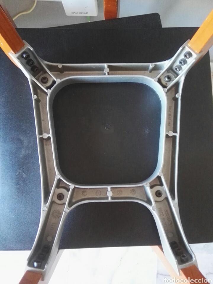 Antigüedades: Silla sillas diseño Zanotta modelo Marina Italy - Foto 9 - 129082180