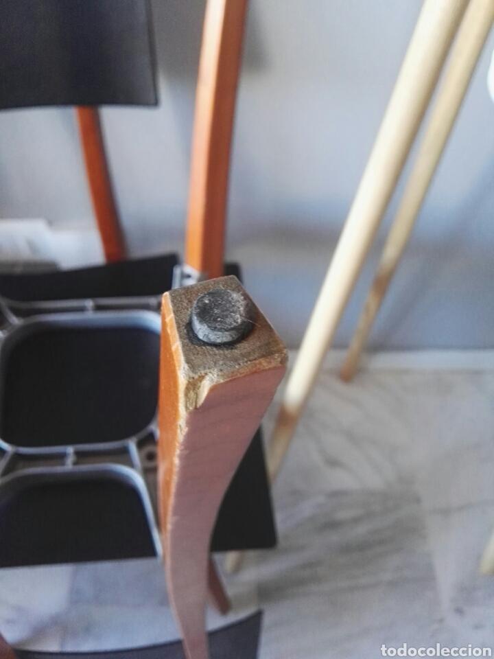 Antigüedades: Silla sillas diseño Zanotta modelo Marina Italy - Foto 12 - 129082180
