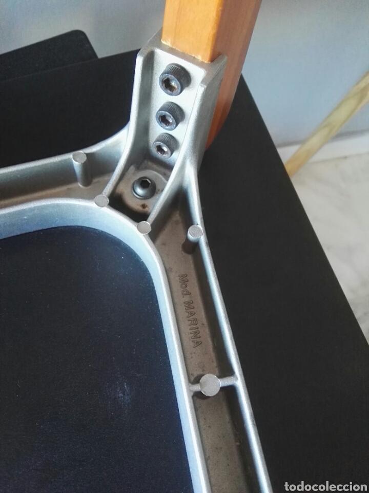 Antigüedades: Silla sillas diseño Zanotta modelo Marina Italy - Foto 13 - 129082180