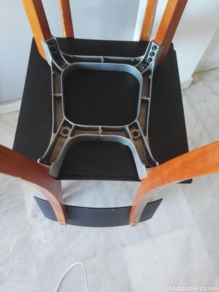 Antigüedades: Silla sillas diseño Zanotta modelo Marina Italy - Foto 14 - 129082180