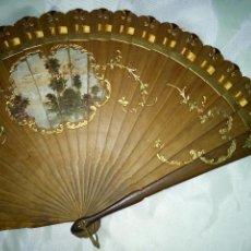 Antigüedades: ABANICO 1860 A1880 APROX ...... Lote 129114987