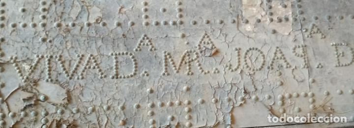 Antigüedades: BAUL O ARCON GRANDE CON PALABRAS EN CASTELLANO ANTIGUO, CAÑIZARES, ARCA COFRE, SIGLO XVII XVIII - Foto 12 - 129192079