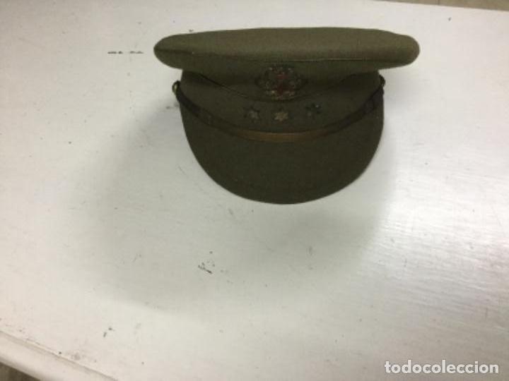 Gorra plato ejercito usado - compra   venta - los mejores precios 95805396a95