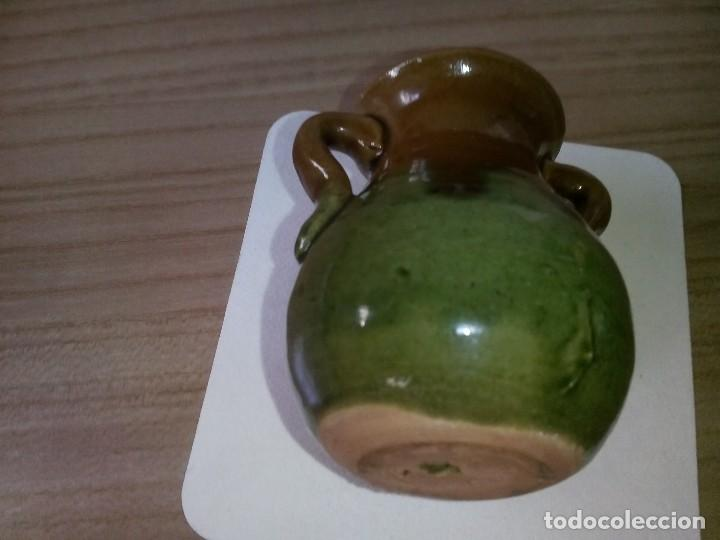 Antigüedades: pequeño palillero de ceramica de los años 70 - Foto 2 - 129254971