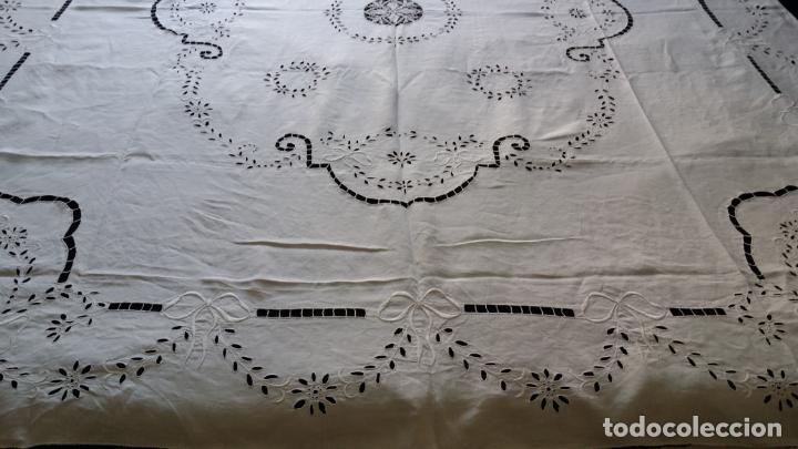 Antigüedades: Antiguo mantel modernista - Foto 9 - 129255879