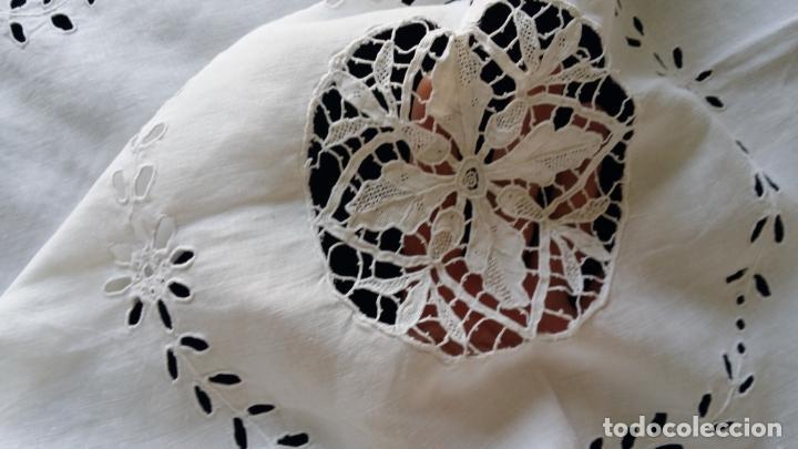 Antigüedades: Antiguo mantel modernista - Foto 12 - 129255879