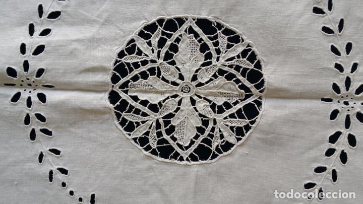 Antigüedades: Antiguo mantel modernista - Foto 13 - 129255879