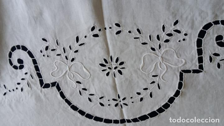 Antigüedades: Antiguo mantel modernista - Foto 14 - 129255879