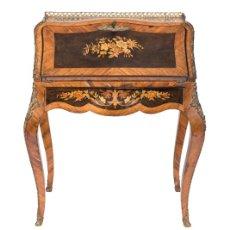 Antigüedades: BUREAU DE PENTE LOUIS XV SIGLO XVIII. Lote 129262720