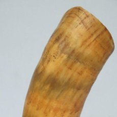 Antigüedades: ANTIGUA COLODRA DE HUESO. CON INICIALES. Lote 129320335