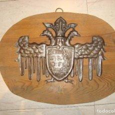 Antigüedades: HIERROS DE ARTE J. FLO , ARAGÓN 277. Lote 176341373
