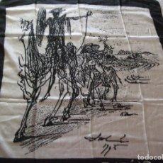 Antigüedades: PAÑUELO, FOULARD DE SEDA . SALVADOR DALI FUNDACION DE COLECCION. Lote 129364227