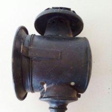 Antigüedades: ANTIGUO FARO O FAROL COCHE DE CABALLOS. Lote 129376360
