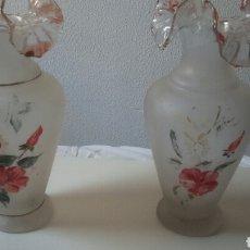 Antigüedades: PAREJA DE JARRONES. Lote 129382199