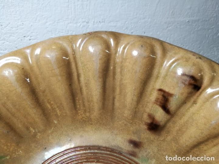 Antigüedades: -ANTIGUO PLATO FUENTE BANDEJA DE MATARÓ ?? ( TERRISSA POPULAR ) S.XVIII- XIX ..PALOMA.. COLOM - Foto 39 - 129388723