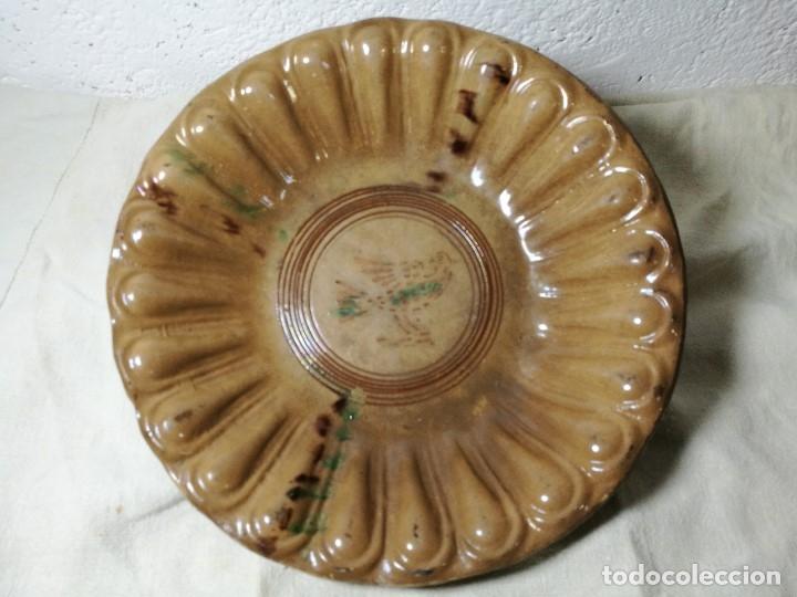 Antigüedades: -ANTIGUO PLATO FUENTE BANDEJA DE MATARÓ ?? ( TERRISSA POPULAR ) S.XVIII- XIX ..PALOMA.. COLOM - Foto 50 - 129388723