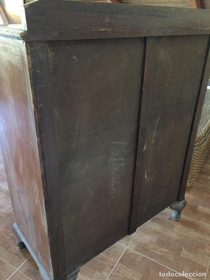 Antigüedades: Cómoda de caoba - Foto 4 - 126677554