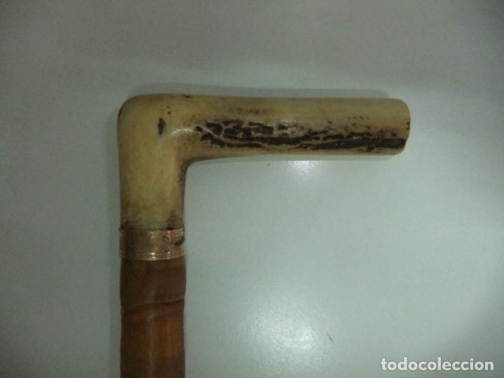 BASTON DE PASEO (Antigüedades - Moda - Bastones Antiguos)