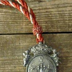 Antigüedades: MEDALLA HERMANDAD DE SANTIAGO APOSTOL DE CASTILLEJA DE LA CUESTA, SEVILLA. Lote 129504859