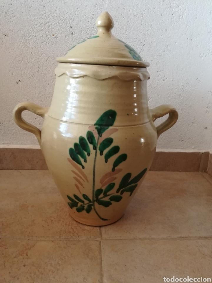 Antigüedades: ANTIGUA ORZA CON TAPA - Foto 2 - 129508198