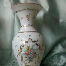 Antigüedades: JARRÓN DE PORCELANA MUY MUY FINA. 28,5CM. Lote 129511131
