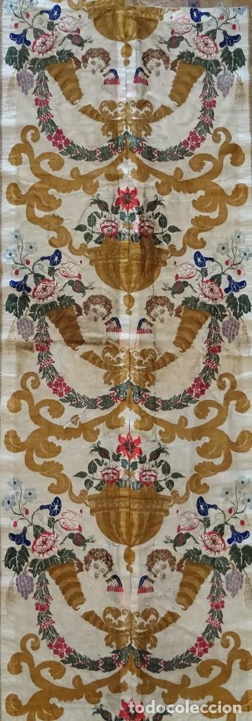 Antigüedades: Seda Valenciana Siglo XVIII - Foto 2 - 150688157
