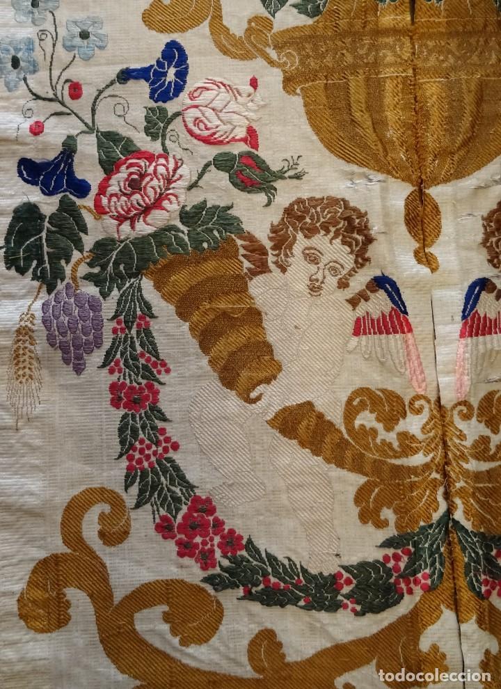 Antigüedades: Seda Valenciana Siglo XVIII - Foto 3 - 150688157