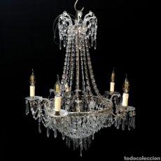 Antigüedades: LAMPARA DE ESTILO IMPERIO - MERCANTIC. Lote 129529367