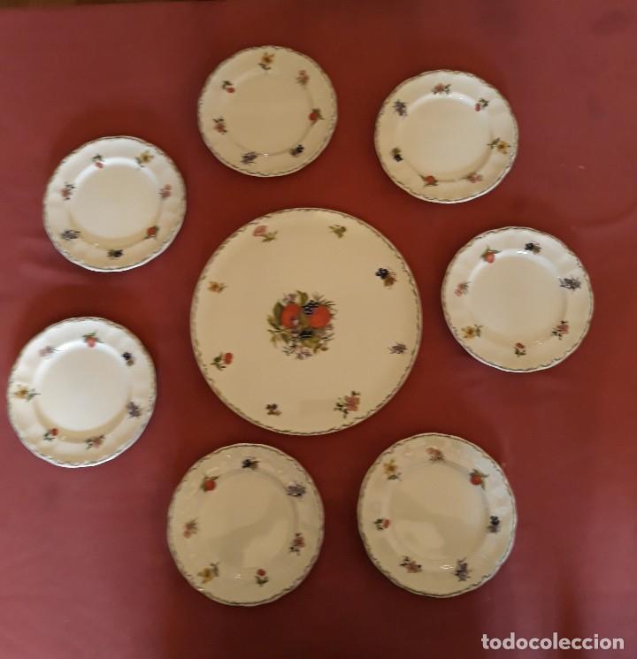 SET DE PASTAS DE TÉ (Antigüedades - Porcelanas y Cerámicas - San Claudio)