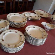 Antigüedades: VAJILLA DE SAN CLAUDIO. Lote 129566571